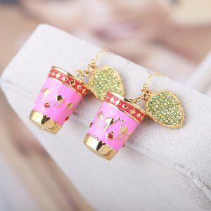 Kate Spade Cute Colorblock Pot Earrings